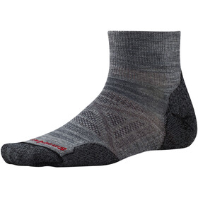 Smartwool PhD Outdoor Light Mini Chaussettes, medium gray
